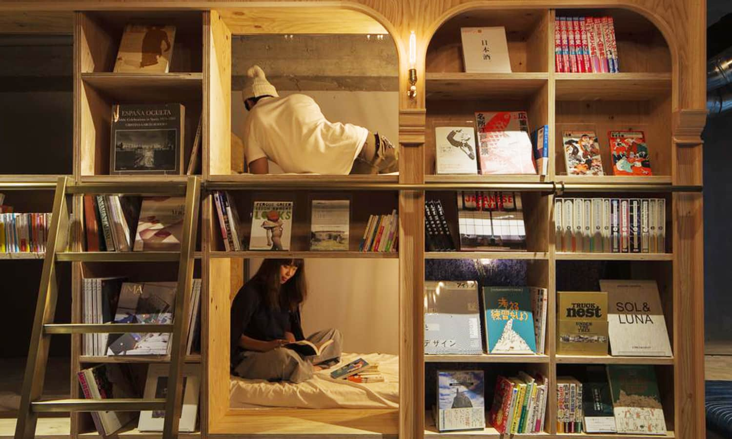 bed-and-book-tokyo