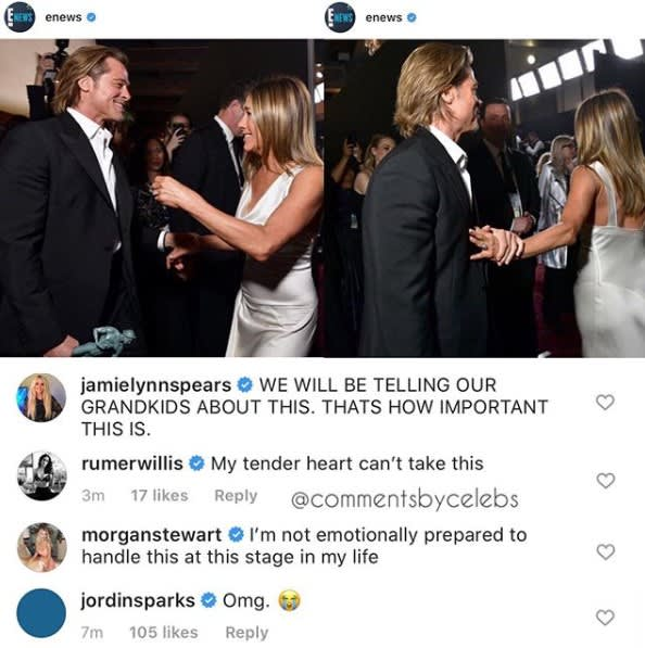Comments By Celeb