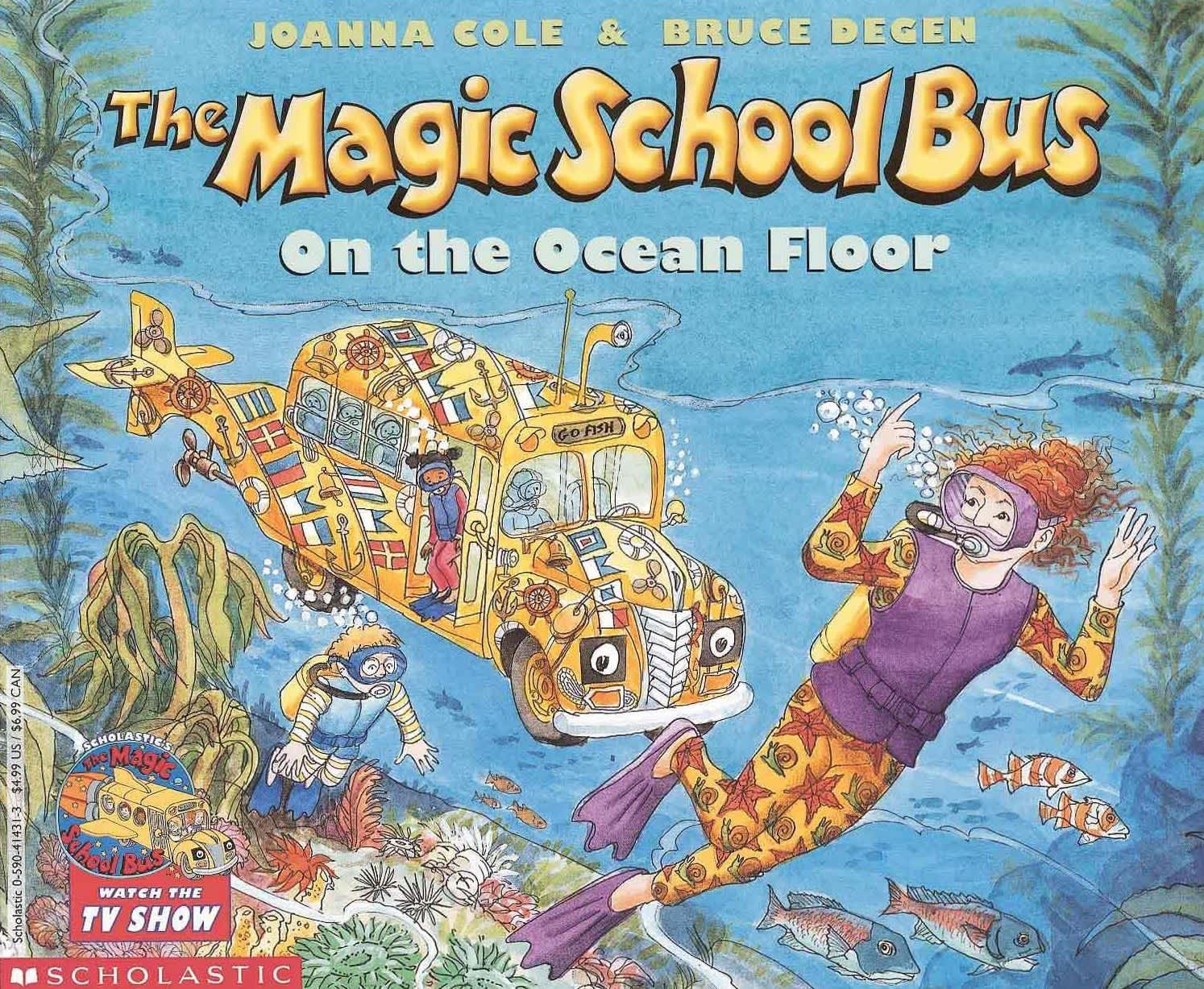 the magic school bus underwater